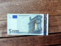 5 EURO Spagna Spain M003 DUISENBERG 2002 Banconota FDS UNC Billet NEU