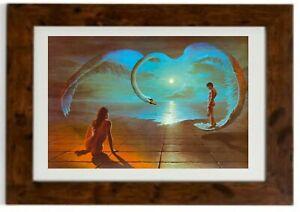 Wings of Love Framed Print By Steven Pearson