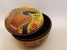 Greek Mythology Adonis Rare Hellenic Ancient Art Pottery Jewelry Case