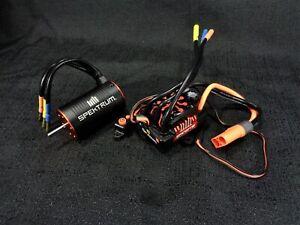Spektrum Firma 130Amp Brushless Smart ESC 3150Kv Brushless Motor Traxxas Slash