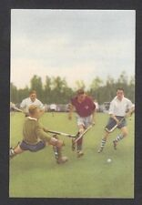 Field Hockey Scarce 1954 Sports Card from the Netherlands #78