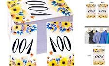 FaCraft Paper Live Numbers Sale Tag Floral with Normal and Reversed 001-100