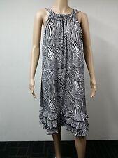 NEW - MSK Women- Size 3X - Sleeveless Oscar Dress - Printed Black White $59