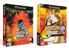 Capcom VS SNK 2 EO Game Cube case + box Art Work Cover no game