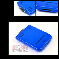 2800MAH EXTERNAL BLUE BATTERY BACKUP CHARGER APPLE IPHONE 4S 4 3GS IPOD TOUCH