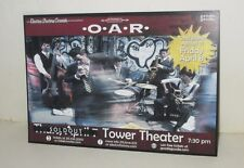 2008 O*A*R Rusted Root Concert Promo Card Tower Theater Philadelphia Lot/13