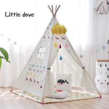 Tipi Kinderzelt Spielzelt Tippi Indianer Indianerzelt Kinderzimmer Mit  Matratze