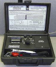 NEW Progressive Electronics/Greenlee 210 Resistance Fault Meter