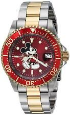 Invicta 25104 Disney Limited Edition Men's Automatic 40mm Two-Tone Red Dial