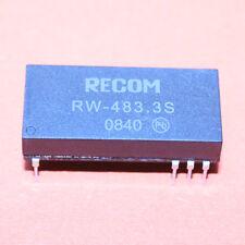 1stk. rw-483.3s DC/DC CONVERTER 3w 36-72vin 3.3 Vout Recom