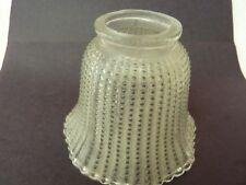 Clear Beaded Glass  Lamp Shade