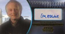 Attack of the Clones Widevision 3D Auto Ian McDiarmid as Palpatine 10/10 Gold