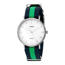Timex TW2P90800 Fairfield Weekender & Multicoloured Nylon Strap No 5649