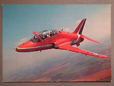 R&L Postard: British Aerospace Hawk Red Arrows RAF, Charles Skilton