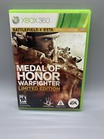 Medal of Honor: Warfighter Limited Edition - Xbox 360 Manual Included on Disc C