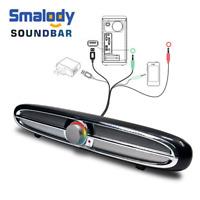 USB Wired Computer PC Speaker System AUX Stereo Soundbar for Laptop Desktop 10W