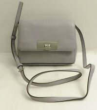 NWT Michael Kors Callie Small Pebble Leather Crossbody Bag Purse Purple
