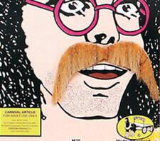 Thick Blonde Moustache 1970S Hippy Western Cowboy Ymca Fancy Dress
