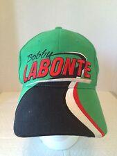 Nascar Bobby Labonte #18 Trucker Baseball Hat Cap Green Black Snapback