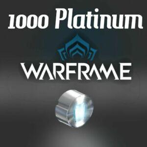 Warframe (PS4/PS5) 1000 Platinum