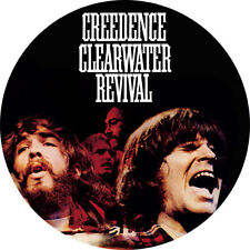 CHAPA/BADGE CREEDENCE CLEARWATER REVIVAL . pin button john fogerty dale hawkins