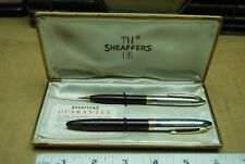 Vintage 1951 2pc Sheaffer's Fountain Pen & Mechanical Pencil Gift Set
