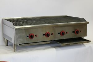 Hamoki Commercial Gas Chargrill/ Flame Grill/ Char Broiler/ NAT/LPG Take-Away