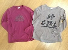 ZARA GIRLS SIZE 11-12 GLITTER SPARKLE T SHIRT TUNIC TOP BUNDLE FLORAL CASUAL FAB