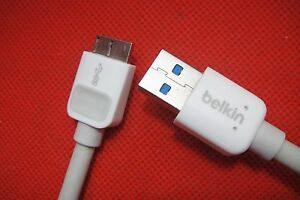 Belkin USB 3.0 Data Power Cable for Samsung Galaxy NOTE 2 3 S5 S2 S3 i9500 i9300