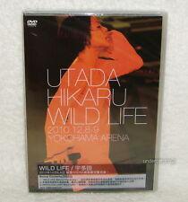 Utada Hikaru WILD LIFE Taiwan 2-DVD (Chinese-Sub.)