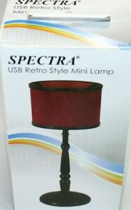 Spectra USB Retro Style Mini Lamp Desk Light LED Free Shipping