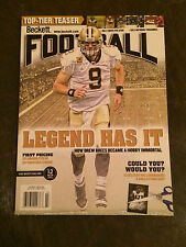 Beckett Football Vol. 25 No. 3 Issue #254 March 2012 Drew Brees