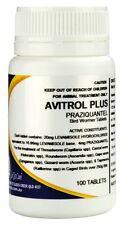 AVITROL Plus 20 mg 100 Tablets - FREE REGISTERED POSTAGE