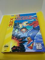 Space harrier 32x Complete in box Fantastic Condition Sega cleaned tested works