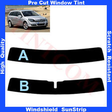 Pre Cut Window Tint Sunstrip for Opel Astra H 5 Doors Estate 2004-2009 Any Shade