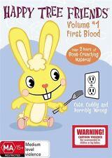 Happy Tree Friends - First Blood :VOLUME 1-DVD LIKE NEW REGION 4 FREE POST AUS