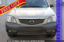 GTG 1999 - 2004 Mazda Tribute 3PC Polished Overlay Billet Grille Grill Kit