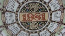 Wedgewood of Etruria & Barlaston - 1981 Horses Calendar Plate 11th Series