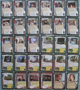 X Files CCG Premiere (1996) Rare and Ultra Rare Cards Part 1/4