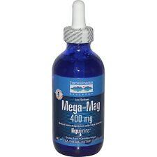 Trace Minerals Research, Mega-Mag, Trace Minerals, 400 mg, 4fl oz