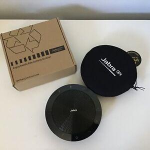 Jabra Speak 510 Portable Bluetooth USB Speaker (Black) With Storage Pouch #914