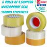 Parcel Box Adhesive Transparent Packaging Shipping Carton Sealing Tape Rolls