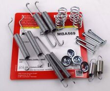 """VW POLO (1994>2014) REAR BRAKE SHOE FITTING KIT SPRINGS (7"""" DRUMS ONLY)  MBA569"""