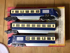 Trix Twin 277 3 Rail DC Meteor Diesel Express 3 Car DMU