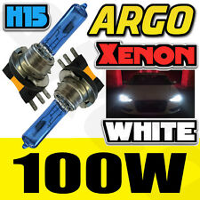AUDI 2X H15 HIGH POWER WHITE SUPER BRIGHT FOG LIGHT BULB REPLACEMENT UPGRADE