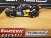 Carrera GO!!! Autos Porsche GT3 RSR MC-Tuning Rennmotor,Haftreifen, Magnet