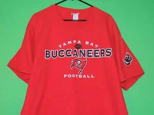 2000 Lee Sport Tampa Bay Buccaneers Mens Size XL NFL Football Red T Shirt