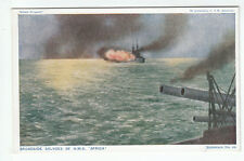 Broadside Salvoes Of HMS Africa 1916 HM Admiralty Britain Prepared Photochrom