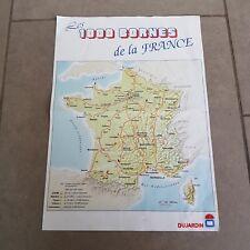 #111081 Carte De France 2017 Poster Affiche Cartes 91x61cm