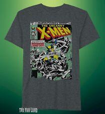 New Marvel Comics X-Men Wolverine Uncanny Comic Book Mens Vintage T-Shirt